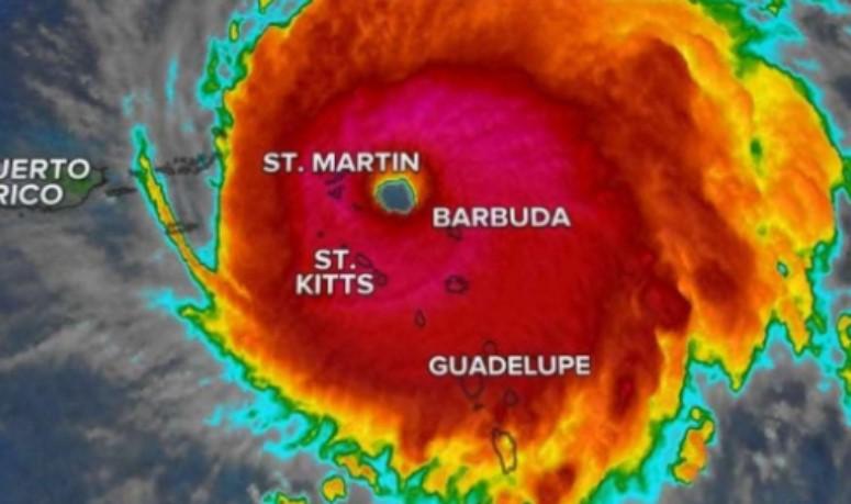 """Paso de """"Irma"""" por islas antillanas y del Caribe"""