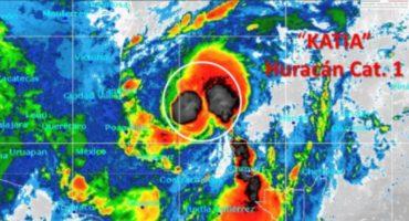 Alerta en Veracruz y Tamaulipas por inminente llegada de Katia, EPN ordena activar Plan MX