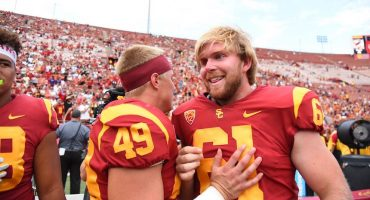 Histórico: USC debuta al jugador ciego Jake Olson