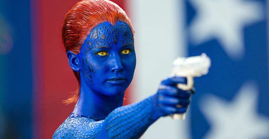 Jennifer Lawrence como Mystique