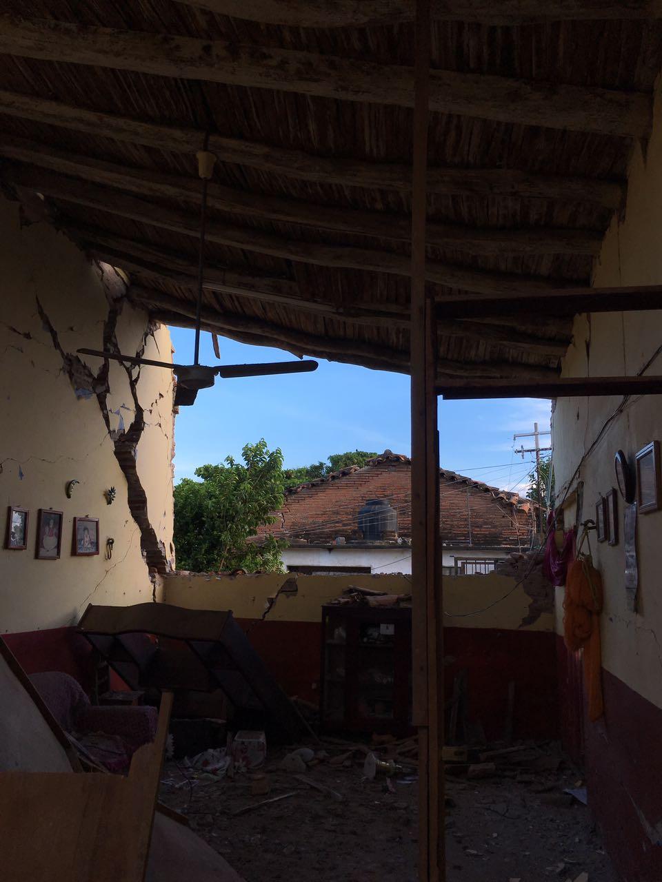 Juchitán después del sismo
