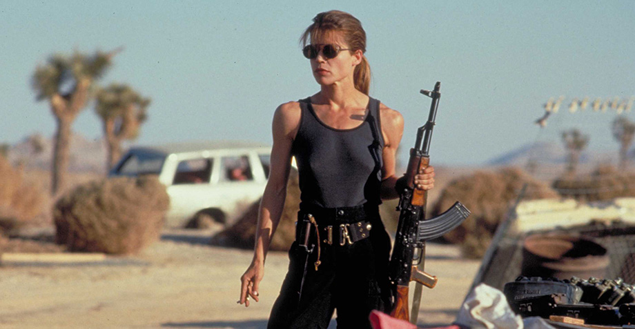 Linda Hamilton regresa como Sarah Connor