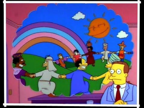 Escena de capitulo de Los Simpsons