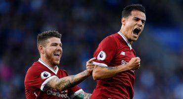 El Liverpool derrota al Leicester en un partidazo con gran gol de Coutinho incluido
