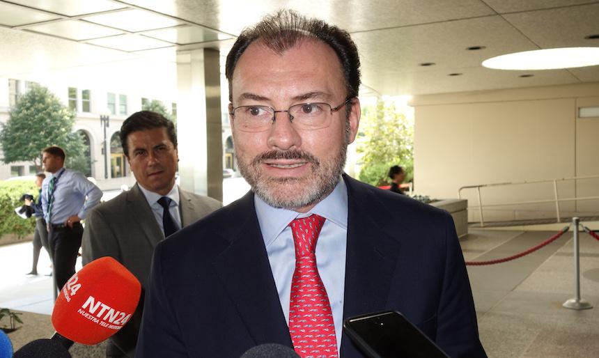 Luis Videgaray Caso, canciller de México