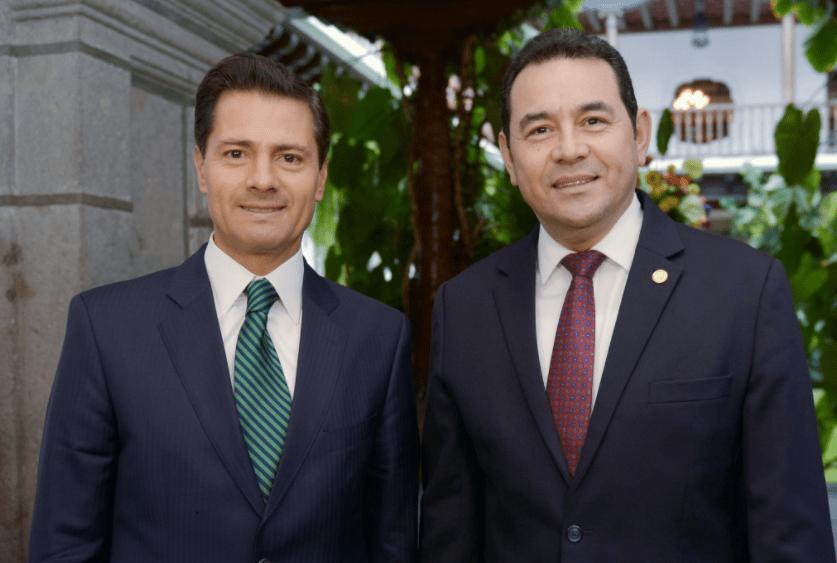 EPN y Jimmy Morales