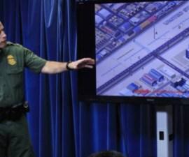 Presentación del diseño del muro fronterizo