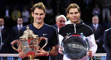 ¡Boom! Rafael Nadal y Roger Federer jugarán juntos en dobles