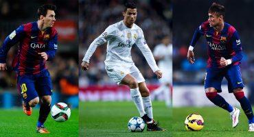 Lionel Messi, Cristiano Ronaldo y Neymar nominados al premio The Best