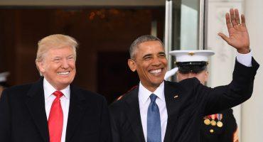 La emotiva carta que Barack Obama escribió a Donald Trump