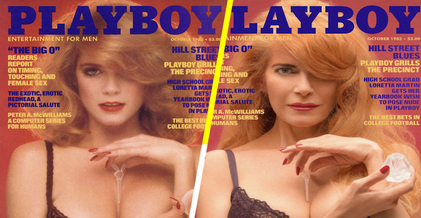 Portadas de Playboy - 30 años después