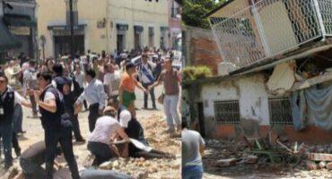 No sólo la CDMX, también Morelos y Puebla seriamente afectadas por sismo de 7.1