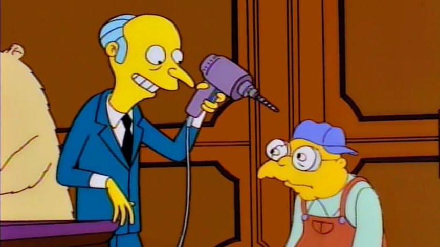 Sr Burns - Los Simpson