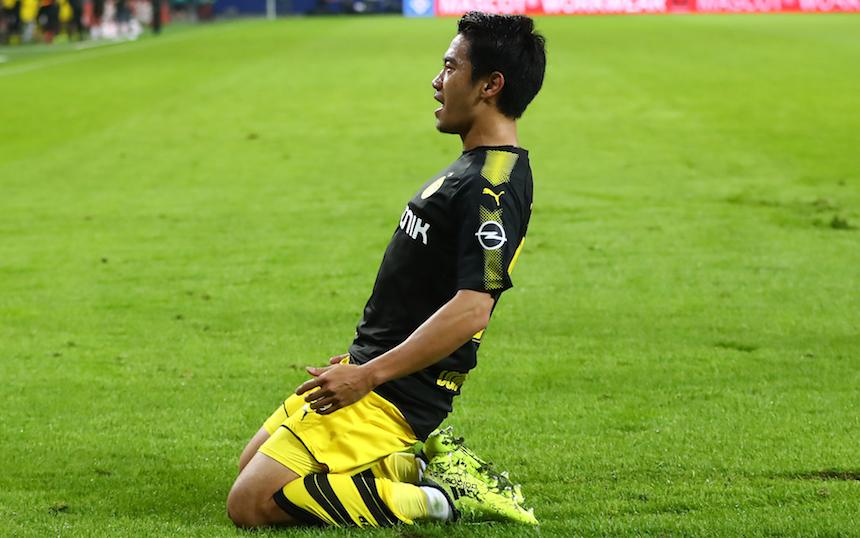 Checa la joyita de gol que nos regaló Shinji Kagawa
