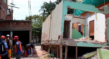 Casas de damnificados en Jojutla estarán en cuatro meses: Gobernación