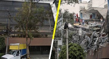 Antes y ahora: estructuras dañadas por el sismo en la Ciudad de México