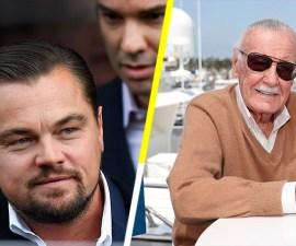 Leonardo DiCaprio es fan de Stan Lee