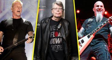 Esto pasa cuando un cover de Metallica involucra a Stephen King y Anthrax