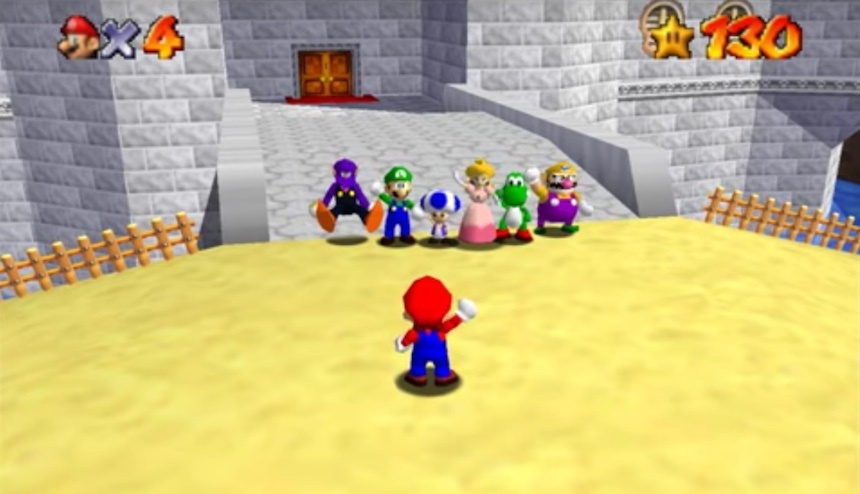 El mod de Super Mario 64 que te deja jugar en línea