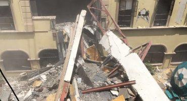 Tec de Monterrey colapsado por sismo