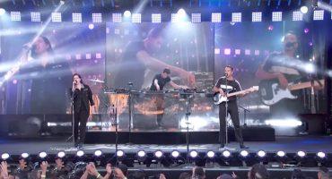 ¡The xx la rompen durante su aparición en Jimmy Kimmel Live!