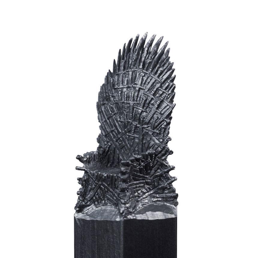Esculturas de Game of Thrones - Trono de Hierro