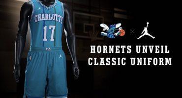 Checa la edición especial del uniforme de los Hornets con Jordan