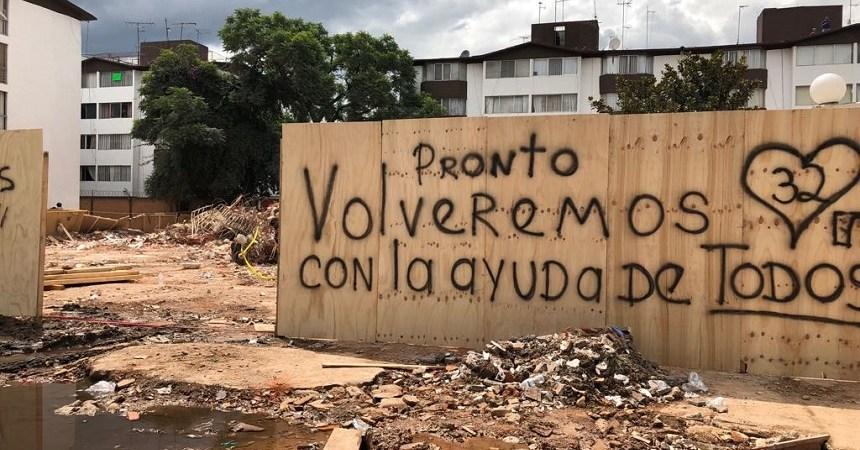 Mensaje de los vecinos del 32 - Ciudad de México