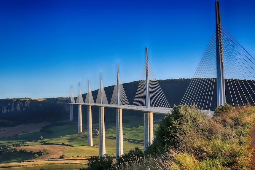Los puentes más bellos - Viaducto de Millau