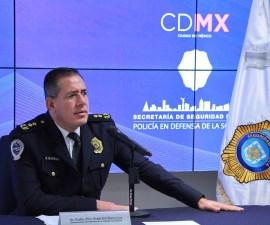 Ángel Eric Ibarra Cruz SSP CDMX