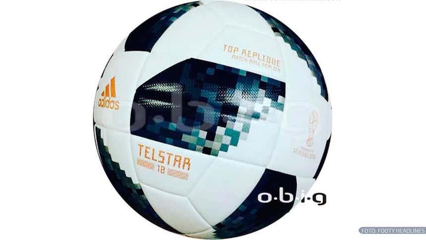 fd80f9e5a43f3 Se filtró el Telstar 18  el balón del Mundial de Rusia