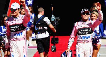 Checo Pérez fue bateado por Force India en el GP de Austin