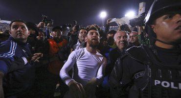Messi: Un divino 'pecho frío'