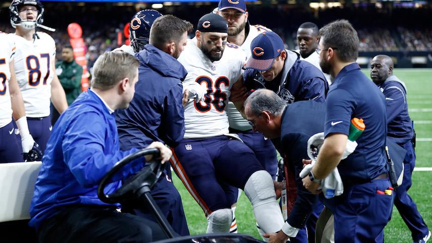 Zach Miller estuvo a punto de perder una pierna por esta lesión