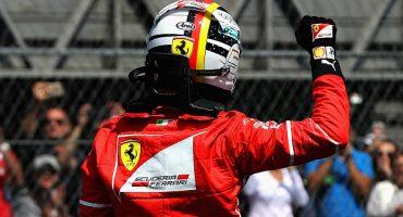 GP México: Checo Pérez arrancará en décimo, la pole es para Vettel