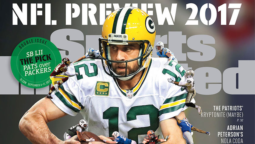 La maldición de ser portada en Sports Illustrated en la NFL