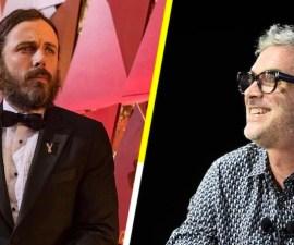Alfonso Cuarón y Casey Affleck
