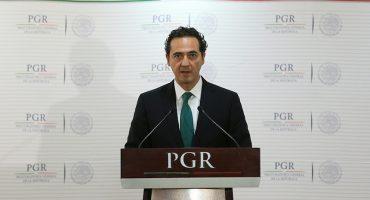 Alberto Elías Beltrán asume funciones en PGR tras renuncia de Cervantes