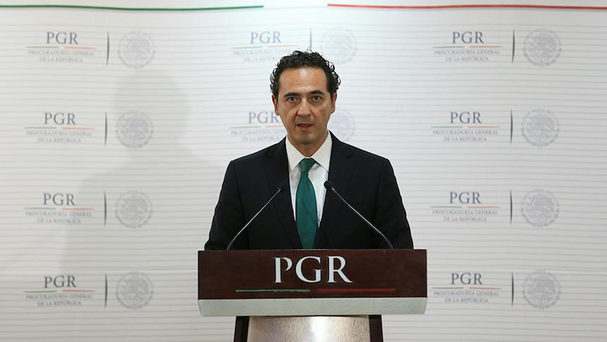 Alberto Elías Beltrán, nuevo titular de la PGR