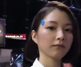 Tokyo Game Show - Androide realista en Japón