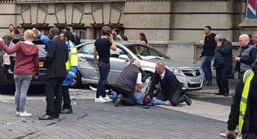 Atropellamiento a peatones en Londres, hay un detenido