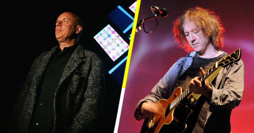Este es el resultado de cuando Brian Eno y Kevin Shields se juntan para hacer música