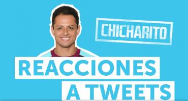 El Chicharito Hernández responde a los tuits de los fans del West Ham