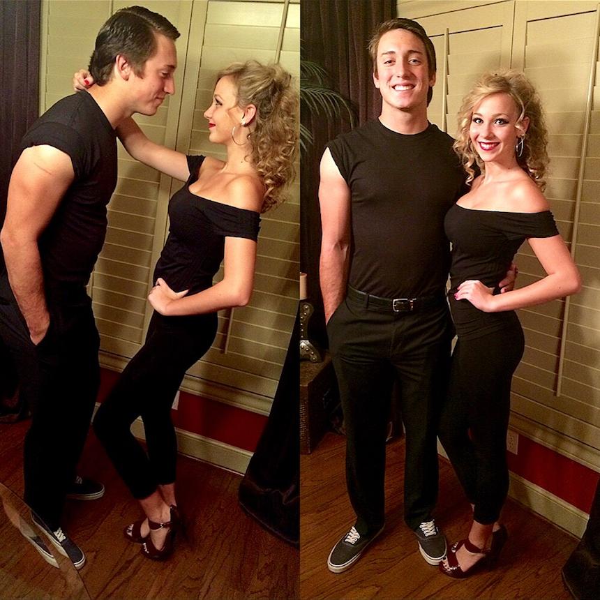 Disfraces para parejas de Halloween - Danny y Sandy
