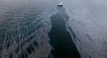 Estados Unidos reporta derrame de petróleo en el Golfo de México