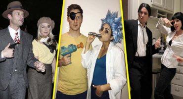 Dos son mejor que uno: 17 disfraces de Halloween geniales para parejas