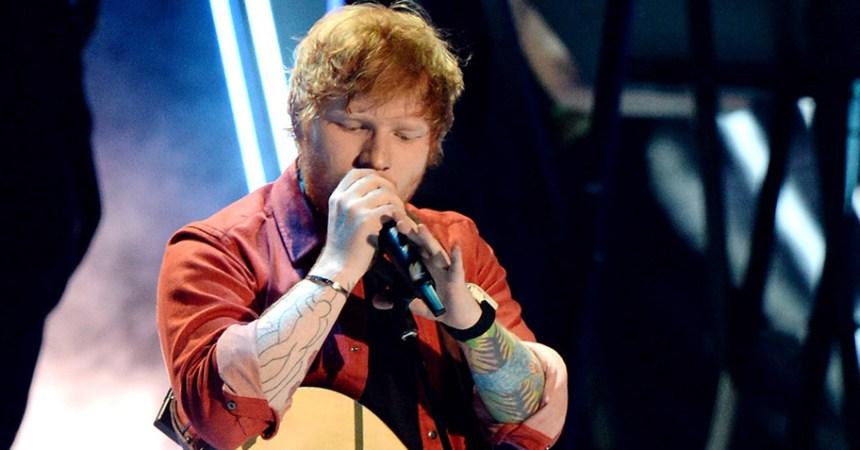 Ed Sheeran es hospitalizado después de que ser atropellado por un auto
