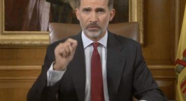 Tras referéndum, Rey Felipe VI acusa