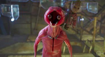 Así se ve Rocket sin piel en este video de Guardians of the Galaxy Vol 2