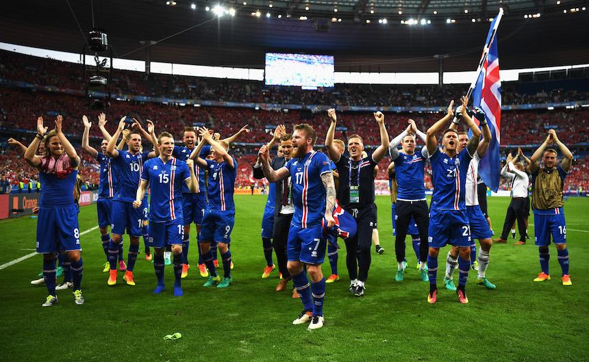 'Milagro sobre hielo': Islandia clasifica al Mundial de Rusia